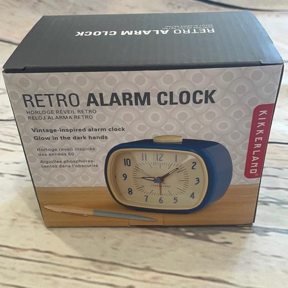 Retro Alarm Clock - NWT